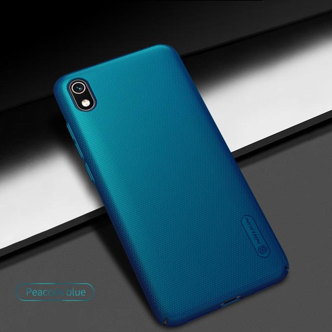 Калъф за Xiaomi Redmi 7A, твърд гръб, Nillkin, син image