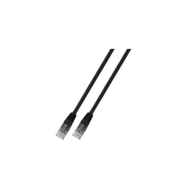 Пач кабел UTP EFB Elektronik, 1.5m, Cat 5E, черен image