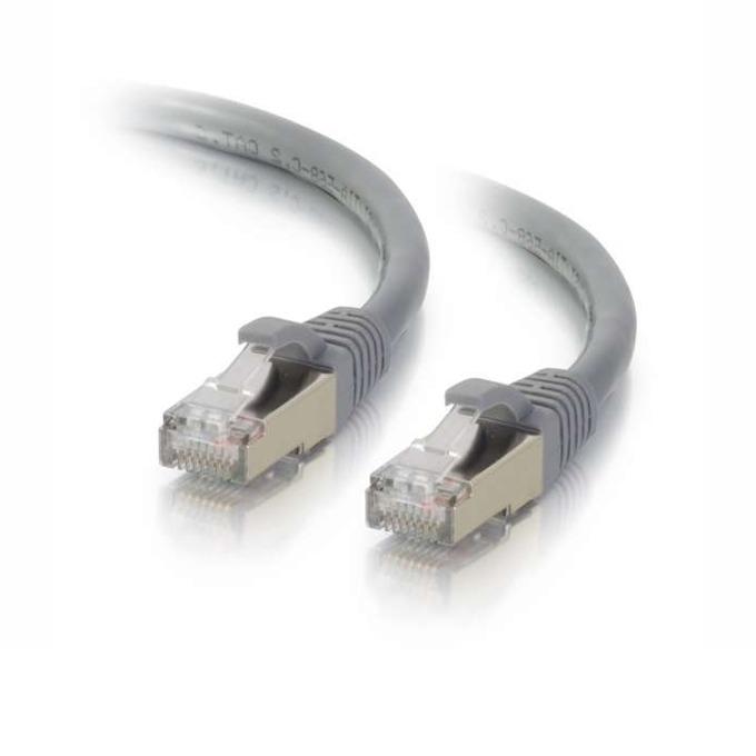 Пач кабел SeaMAX SMF-PCF-C5E-20GR, FTP, Cat 5e, 2m, сив image