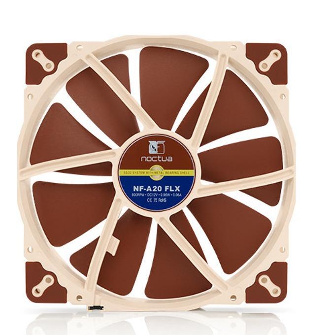 Вентилатор 200mm, Noctua NF-A20-FLX, 3-pin, 800 rpm  image