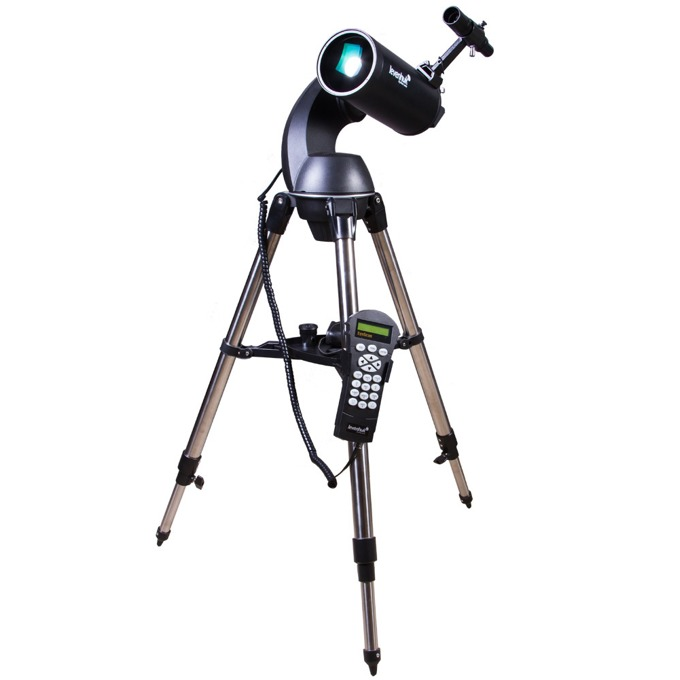 Телескоп Levenhuk SkyMatic 105 GT MAK, 102 mm диаметър на лещата, 1300 mm фокусно разстояние image
