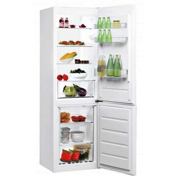 Хладилник с фризер Indesit LR8 S1 W, клас А+, 339 л. общ обем, свободностоящ, 309 kWh/годишно, бял image