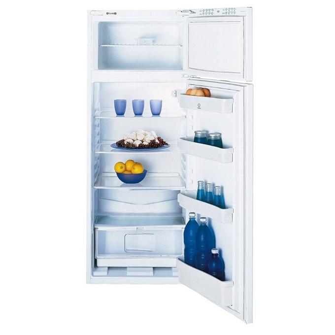 Хладилник с камера Indesit RAA 24N, клас А+, 224 л. общ обем, свободностоящ, 220 kWh/годишно, LED осветление, бял image
