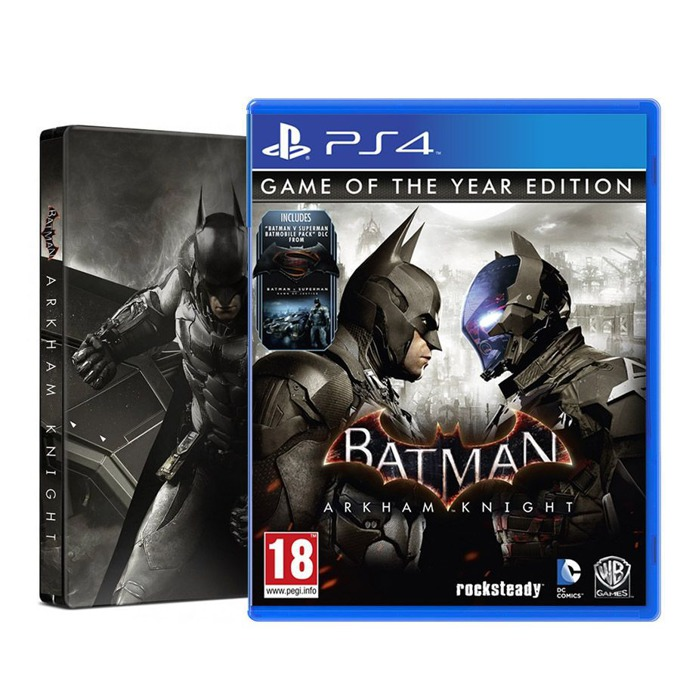 Batman: Arkham Knight SteelBook Game Of the Year Edition, за PS4 image