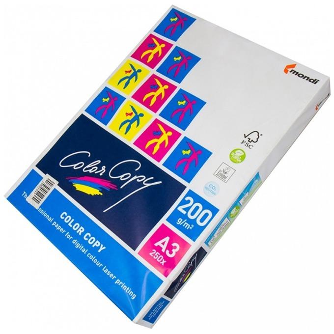 Картон Mondi Color Copy, А3, 200g/m2, 250л., бял image