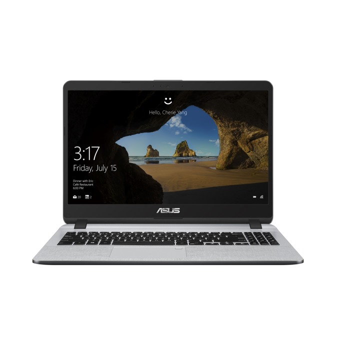 "Лаптоп Asus X507MA-BR145 (90NB0HL1-M05100)(сив), двуядрен Gemini Lake Intel Celeron N4000 1.1/2.6 GHz, 15.6"" (39.62 cm) HD Anti-Glare LED-backlit Display, (HDMI), 4GB DDR4, 256GB SSD, 1x USB 3.0, Free DOS, 1.75 kg image"