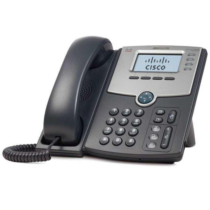Cisco SPA504G IP Phone, 4 линии, 2xRJ45