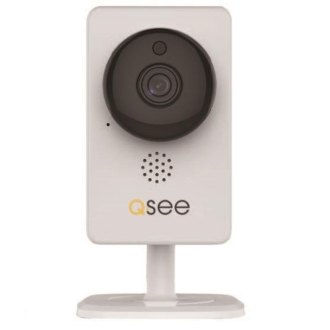 IP камера Q-see QTW-938E, панорамна, 2 Mpix(1920×1080@25FPS), H.264/MJPEG, IR осветеност, вътрешна, безжична image