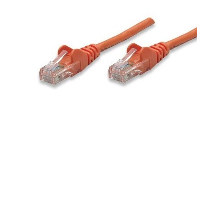 Пач кабел Intellinet, UTP, Cat.5e, 2m, оранжев image