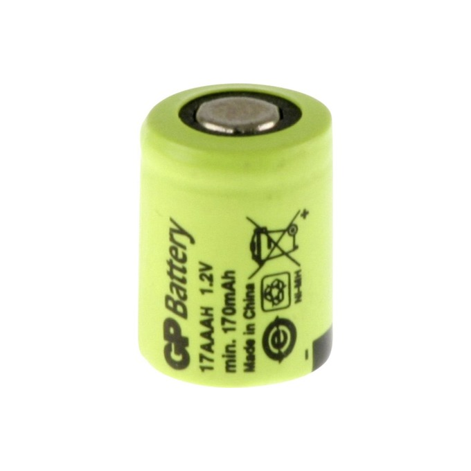 Акумулаторна батерия GP BATTERIES, 1/3AAA 1.2V 170mAh, NiMH, 1бр. GP BATTERIES image