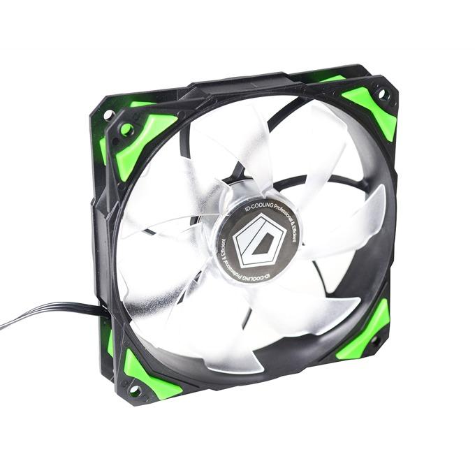 Вентилатор 120 mm ID-Cooling PL-12025-G , 4-пинов, 2200rpm image