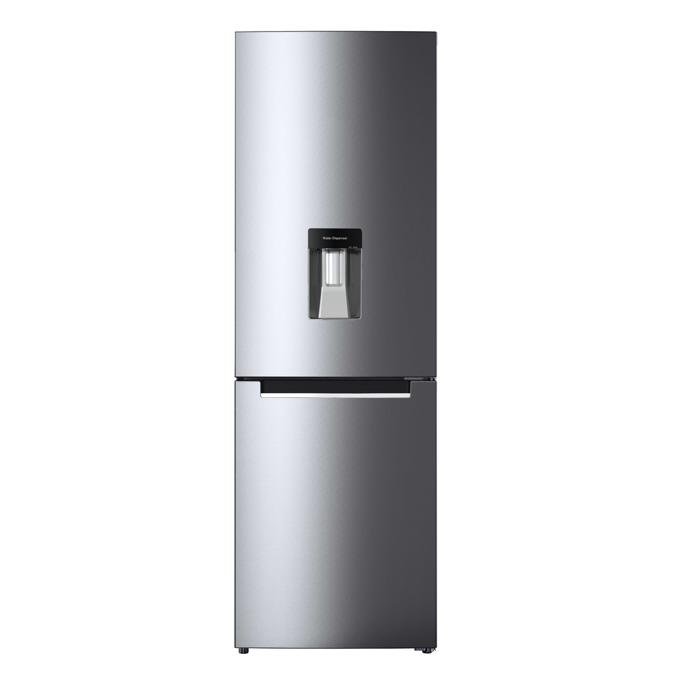 Хладилник с фризер Crown CBN-320DIX, клас A+, 268л. общ обем, свободностоящ, 306 kWh/годишно, No Frost, диспенсер, инокс image