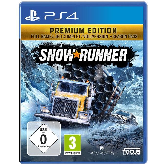 Игра за конзола Snowrunner: A Mudrunner game Premium Edition, за PS4 image
