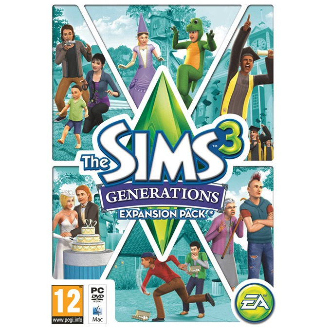 Игра The Sims 3: Generations, за PC image