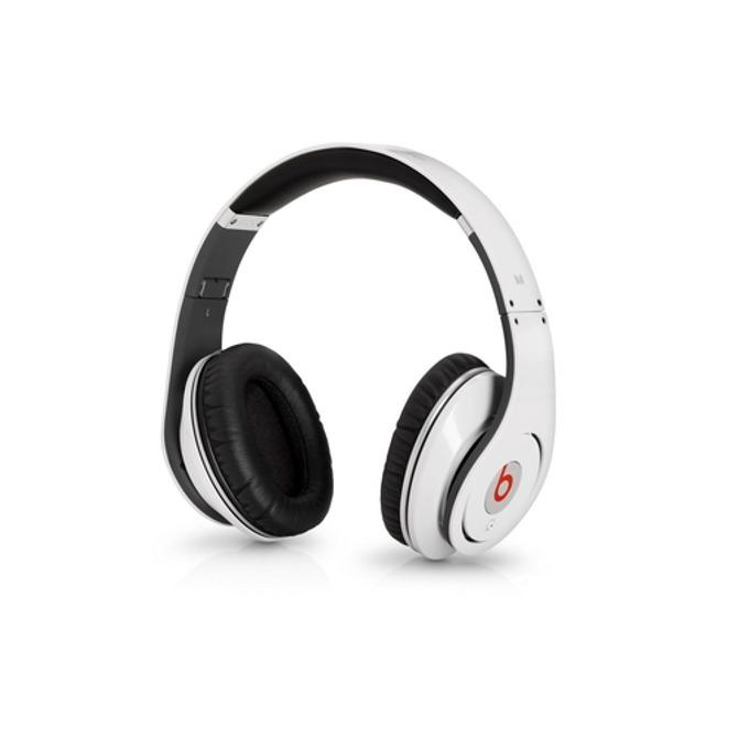 Слушалки Beats by Dre Studio (бели), сгъваеми, оптимизирани за iPhone/iPad/iPod image