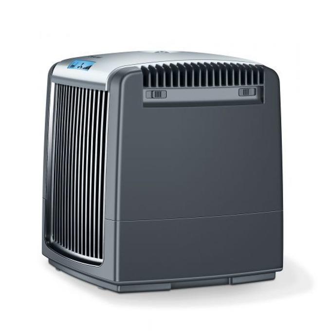 Пречиствател и овлажнител за въздух Beurer LW220, LCD дисплей, 3 степени, авт.изключване, за помещения до 20 m², овлажняване - до 40 m², резервоар 7,25 литра, черен image