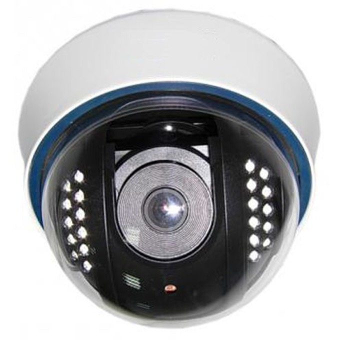 Privileg BE-DIKA60 куполна камера, 600TV Lines, обектив 4÷9 mm Manual Zoom, IR осветеност до 20м. image