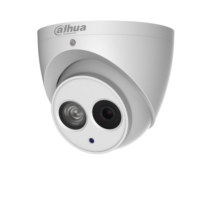IP камера Dahua IPC-HDW4831EM-ASE-0280B, куполна, 8MP Mpix(3840x2160@25FPS), 2.8mm обектив, H.265+/H.265/H.264+/H.264, IR осветеност (до 50 метра), външна IP67 защита от вода, PoE, RJ-45, Micro SD memory, Built-in Mic image