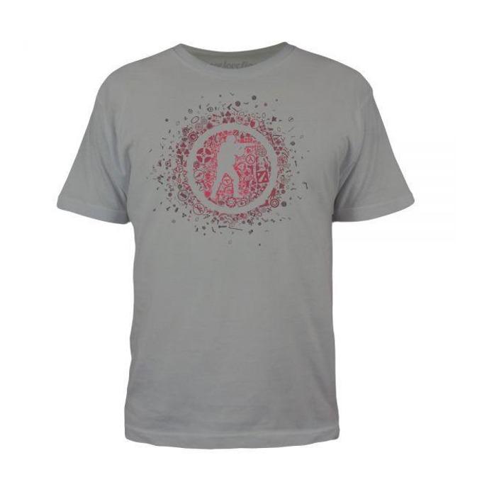 Тениска Gaya Entertainment CS:GO, 16 Years CS:GO, размер S, сива image
