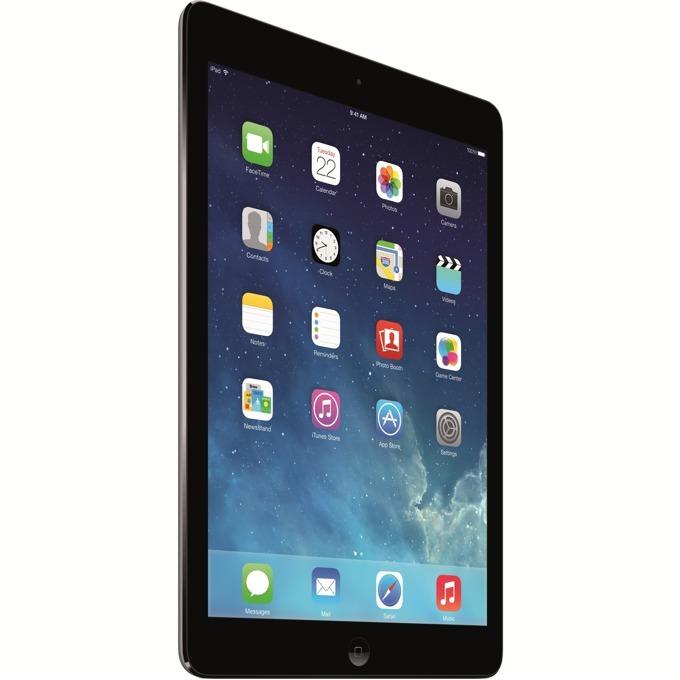 "Таблет Apple iPad Air (ME987HC/A)(сив), LTE, 9.7"" (24.64 cm) Retina дисплей, двуядрен Apple A7 1.3 GHz, 1GB RAM, 128GB Flash памет, 5.0 & 1.2 Mpix камера, iOS, 478g image"