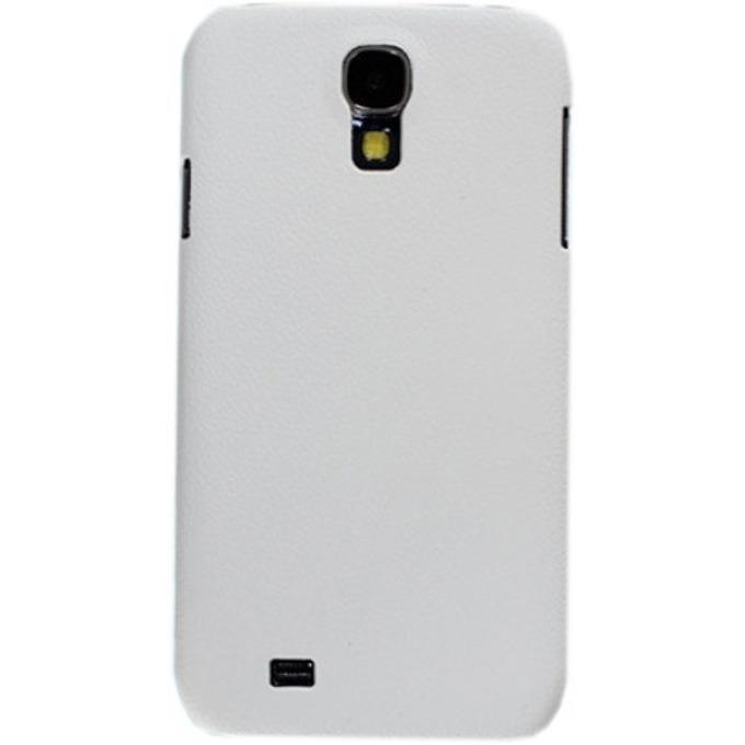 Калъф Samsung S4 mini/i9190, страничен протектор с гръб, еко кожа, бял  image