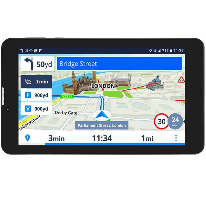 "Навигация за автомобил GeoVision Tour 3 Sygic, 7"" (17.8cm), 8GB вградена памет, SD/SDHC слот, microUSB, карта на Европа image"