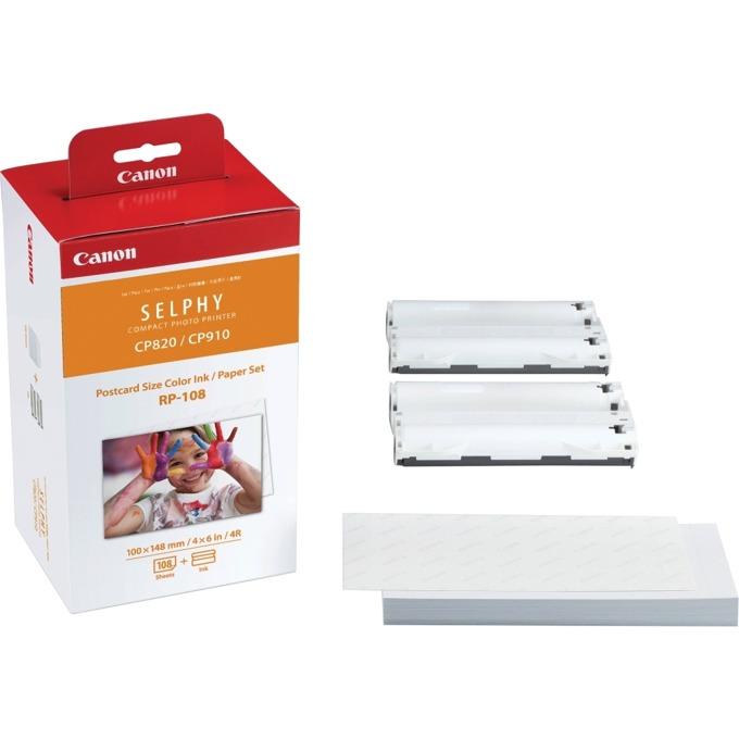 Canon DSC Ink Paper Set RP-108