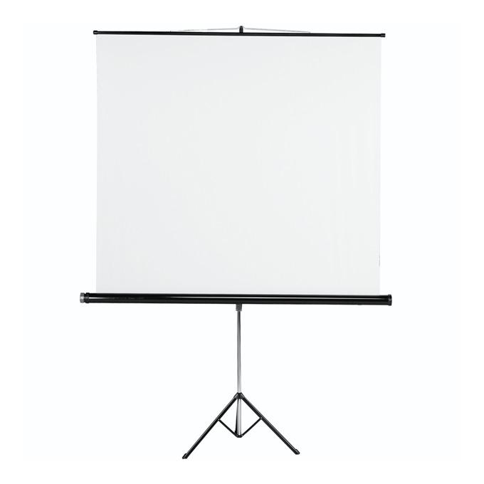 Екран HAMA 18793, на стойка, white, 1550 x 1550 mm, 1:1 image