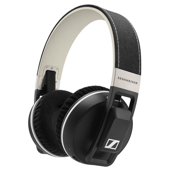Слушалки Sennheiser Urbanite XL, безжични, микрофон, 1.2 метра кабел, 16 - 22000 Hz честотен диапазон, 3.5mm жак, черни image