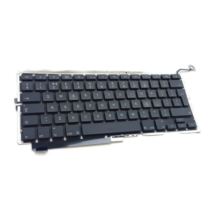 Клавиатура за Apple Macbook Pro A1286, UK, без рамка, черна image