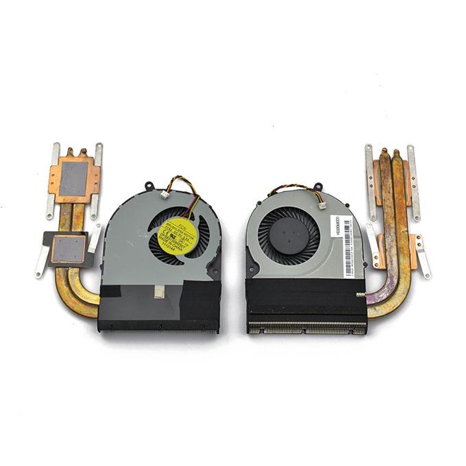 Вентилатор с охладител за лаптоп Toshiba Satellite P55 P55T P55T-B image