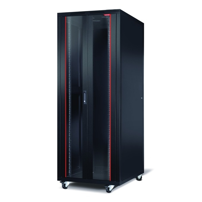 "Комуникационен шкаф Formrack CSM-42U60100, 19"", 42U, 600 x 1000mm, черен image"