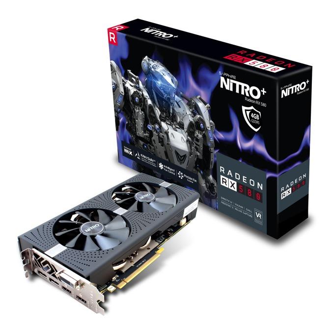 Sapphire NITRO+ Radeon RX 580 4GD5 11265-07-20G