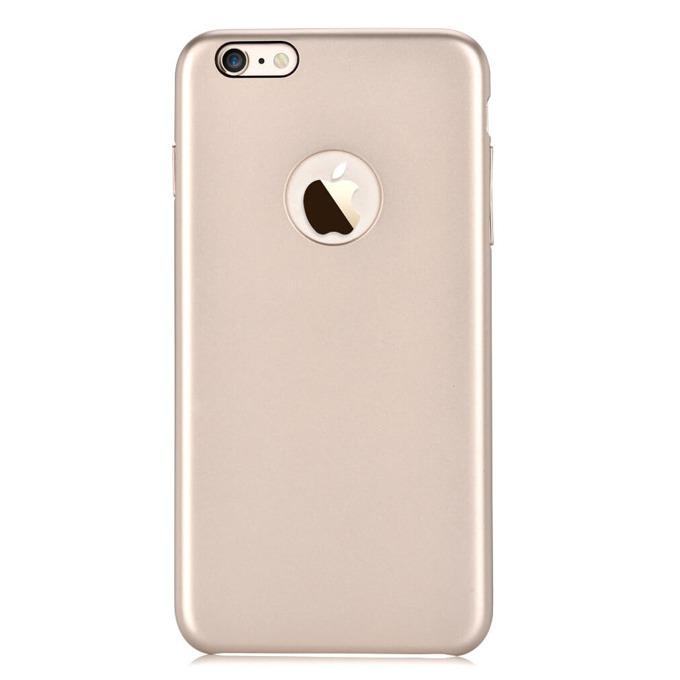 Калъф за Apple iPhone 6/6S, страничен протектор с гръб, поликарбонат, Devia CEO, златист image