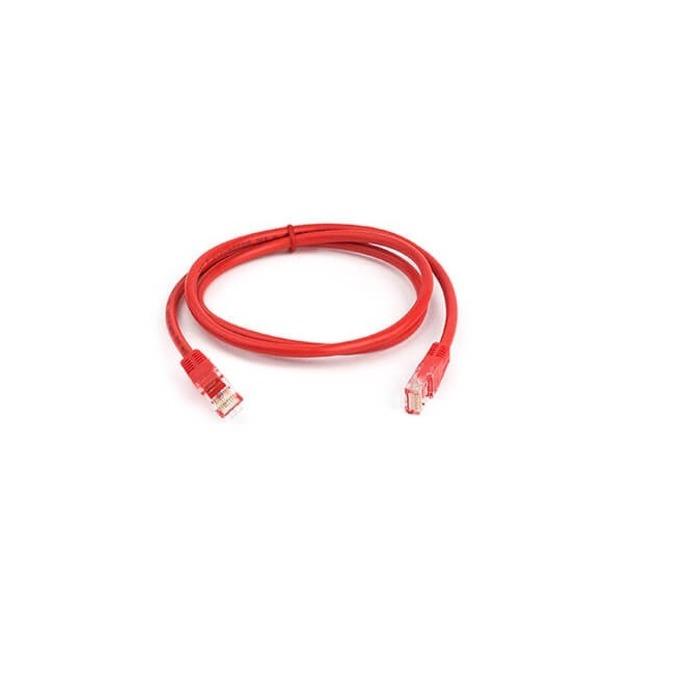 Пач кабел ACnetPLUS, UTP Cat 5e, 0.5m, червен image