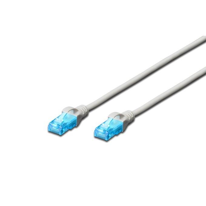 Пач кабел Digitus, UTP, Cat.5e, 20m, сив  image