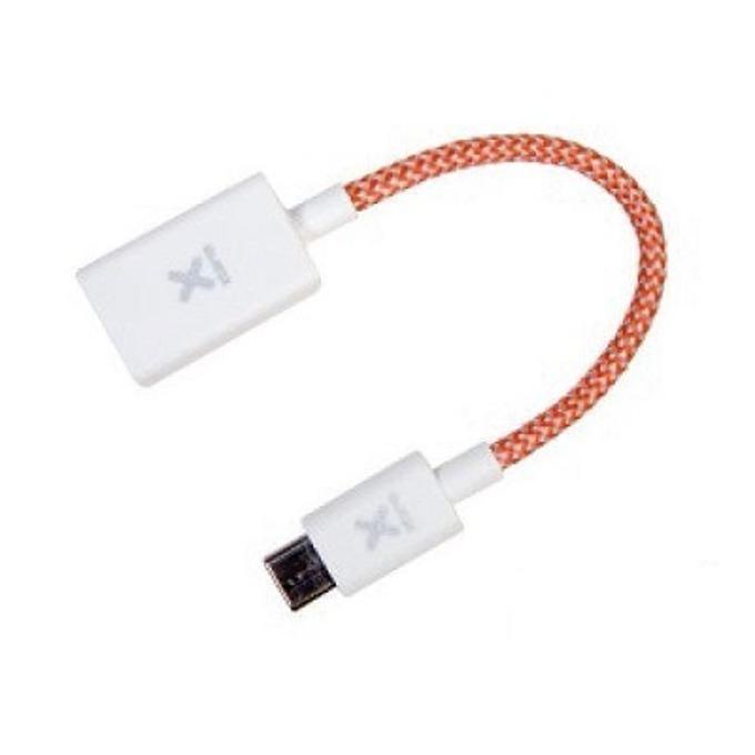 Кабел A-solar Xtorm, от USB-C(м) към USB-A 3.0(ж), 15см, бял  image