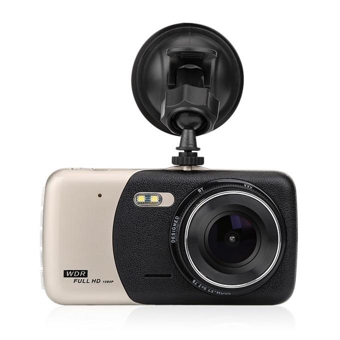 """Видеорегистратор Q-see D120, камера за автомобил, Full HD 1920x1080P, 4.0"""" (10.16) IPS дисплей, TF слот, сензор за движение image"""