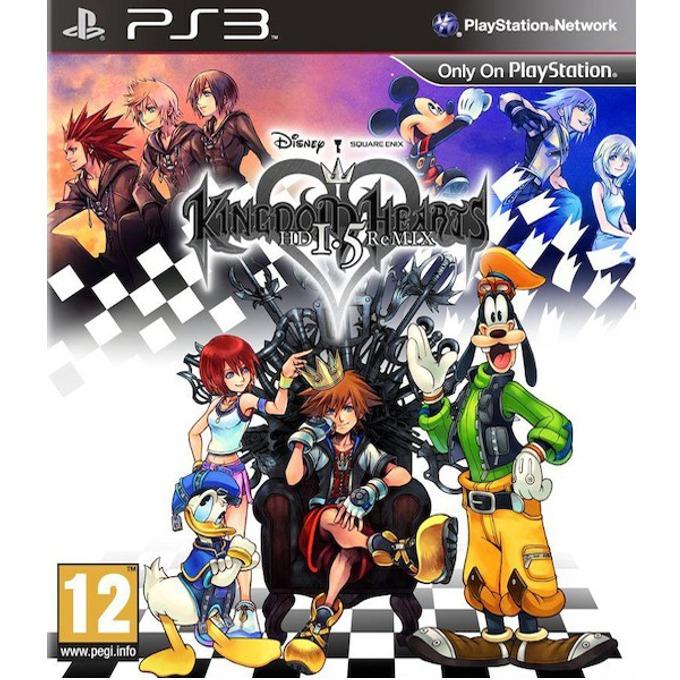 Игра за конзола Kingdom Hearts HD 1.5 ReMIX, за PlayStation 3 image