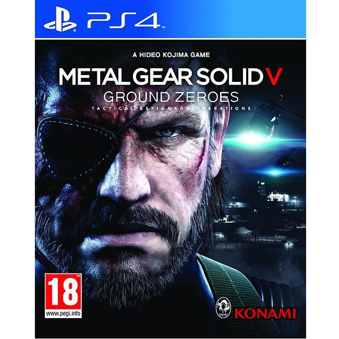 Metal Gear Solid V: Ground Zeroes, за PlayStation 4 image