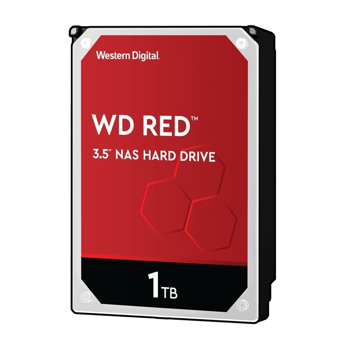 "1TB WD Caviar® Red™, NAS, SATA 6Gb/s, 64MB, 3.5"" (8.89 cm) image"