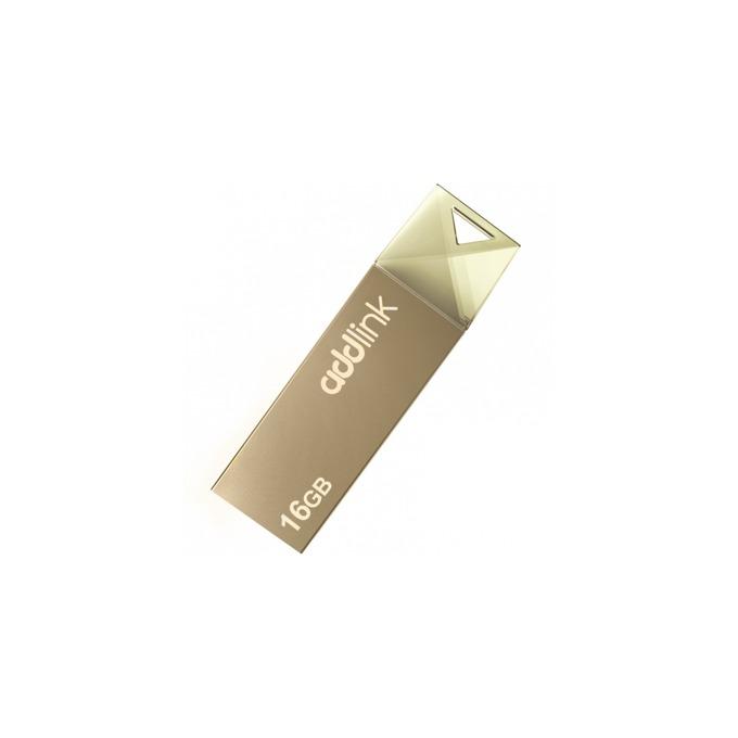 Памет 16GB USB Flash Drive, Addlink U10, USB 2.0, сива image