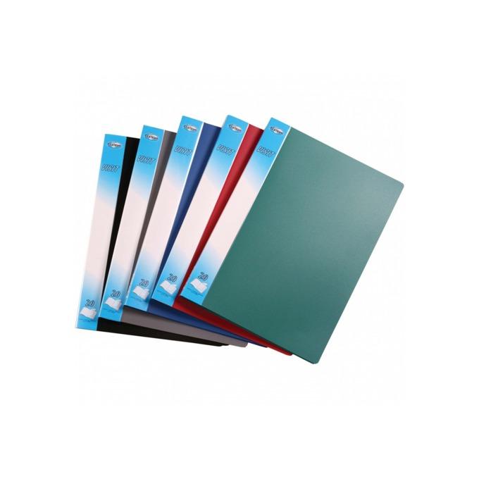 Папка Centrum Visit, за документи с формат до А4, с 10 джоба, различни цветове image