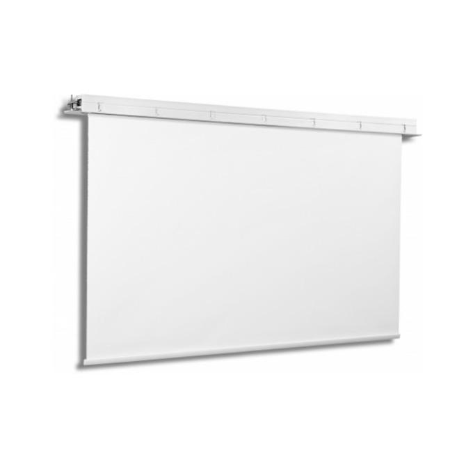 "Екран Avers CONTOUR 18-10 MW, стенен/таванен монтаж, Matt White, 180 x 102 см, 77"" (195.58 cm), 16:9 image"