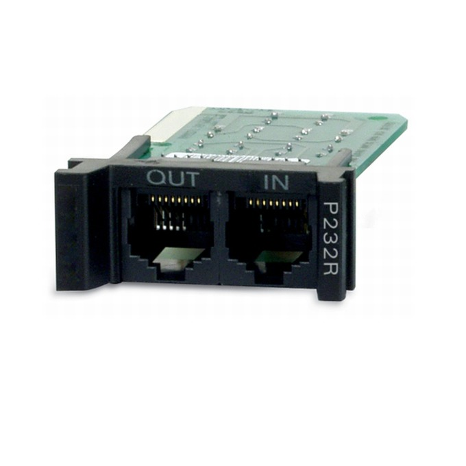 APC Surge Protection Module for RS232, Replaceable, 1U, for use with PRM4 or PRM24 Rackmount Chassis image