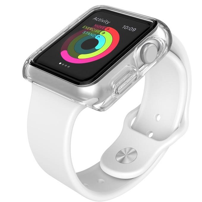 Страничен протектор Speck CandyShell Fit за Apple Watch 38mm CandyShell Fit, прозрачен image
