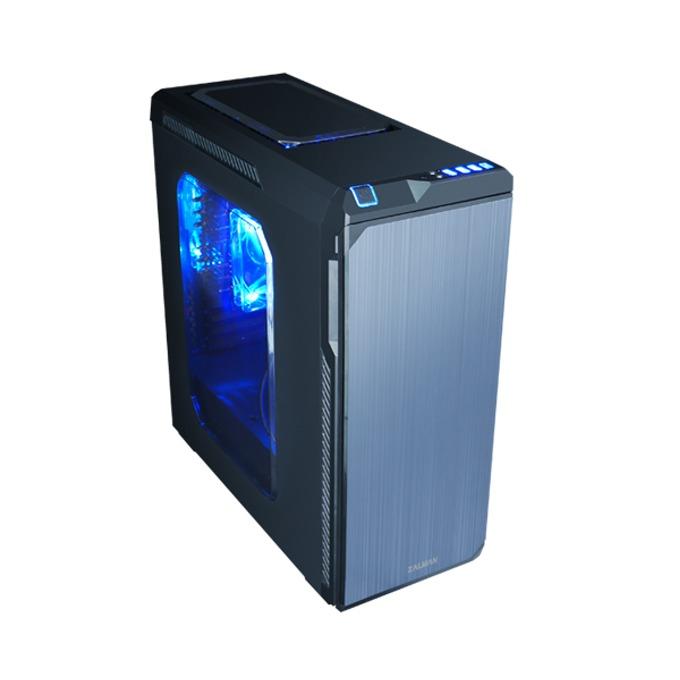 ATX/microATX/miniITX Zalman Z9 NEO, 2x USB 3.0, 2x USB 2.0, черна, без захранване image