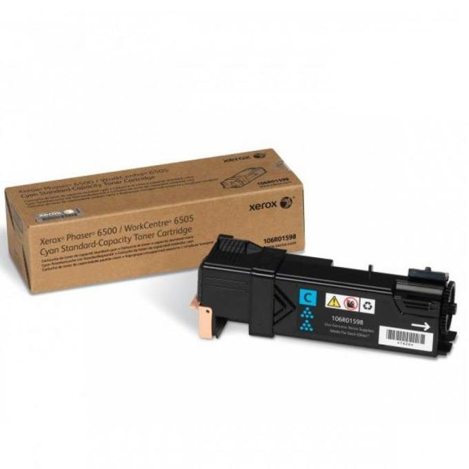 КАСЕТА ЗА XEROX Phaser 6500/WC 6505 - Cyan - P№ 106R01598 - заб.: 1000k image