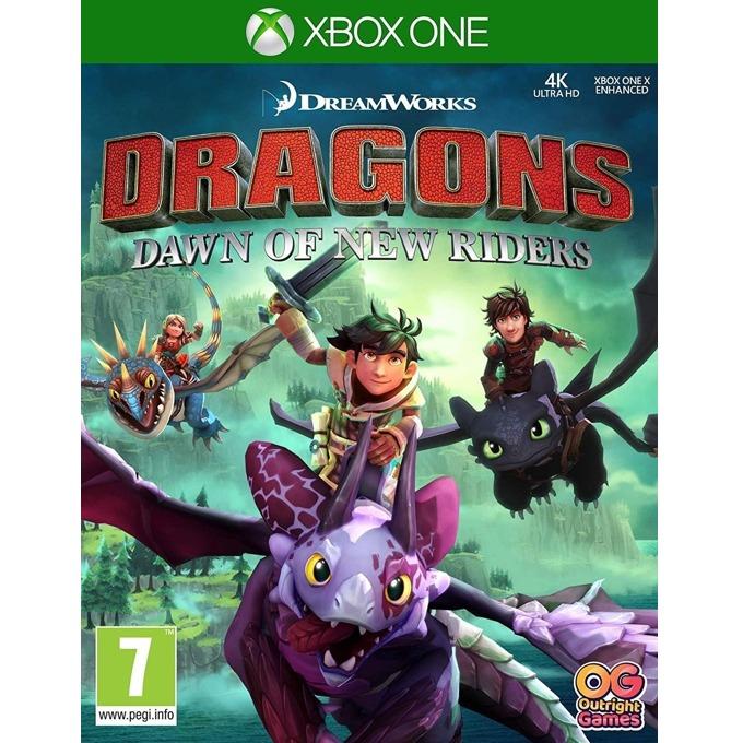 Игра за конзола Dreamworks Dragons: Dawn of New Riders, за Xbox One image