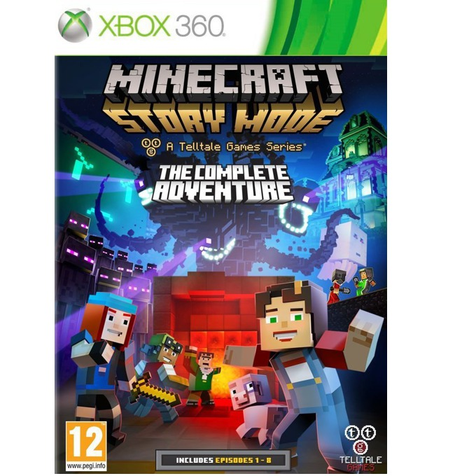 Игра за конзола Minecraft: Story Mode - The Complete Adventure, за Xbox 360 image